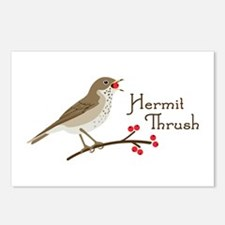 Hermit Thrush Postcards (Package of 8)