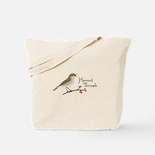 Hermit Thrush Tote Bag