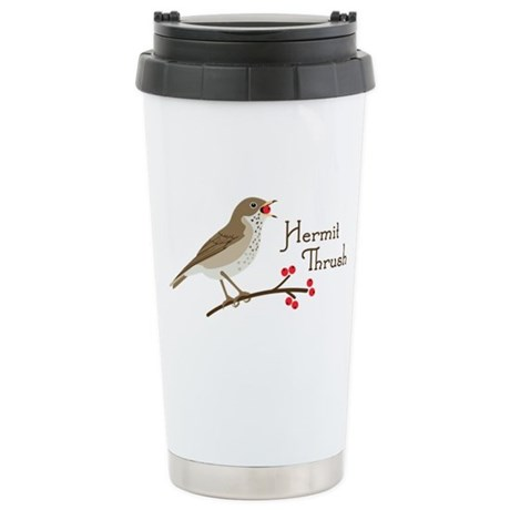 Hermit Thrush Travel Mug