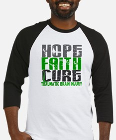 Hope Faith Cure TBI Baseball Jersey