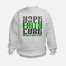 Hope Faith Cure TBI Sweatshirt