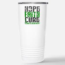 Hope Faith Cure TBI Stainless Steel Travel Mug