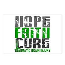 Hope Faith Cure TBI Postcards (Package of 8)