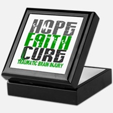 Hope Faith Cure TBI Keepsake Box