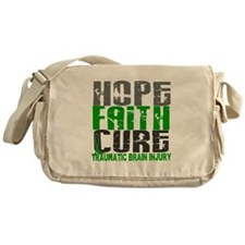 Hope Faith Cure TBI Messenger Bag