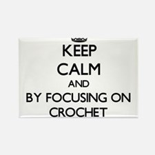 Keep calm by focusing on Crochet Magnets