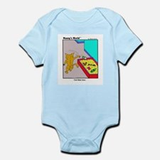 CAT LITTER BOX Infant Bodysuit