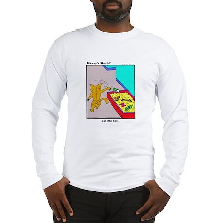 CAT LITTER BOX Long Sleeve T-Shirt