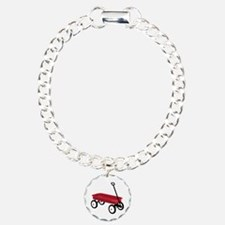 Red Wagon Bracelet