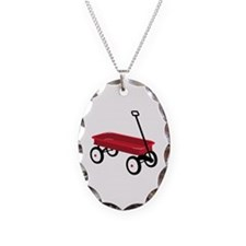 Red Wagon Necklace