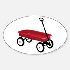 Red Wagon Decal