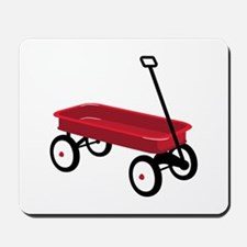 Red Wagon Mousepad