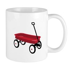 Red Wagon Mugs