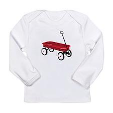 Red Wagon Long Sleeve T-Shirt