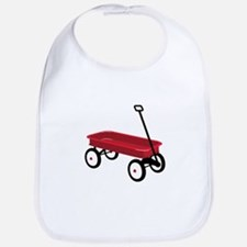 Red Wagon Bib