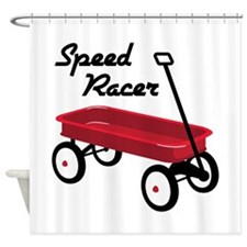 Speed Racer Shower Curtain