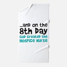 Hospice Nurse Creation Beach Towel