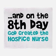 Hospice Nurse Creation Throw Blanket