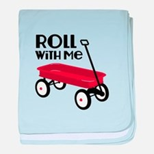 ROLL WiTH Me baby blanket