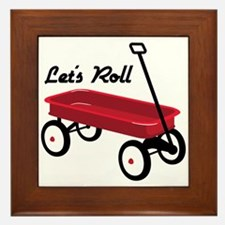 Lets Roll Framed Tile