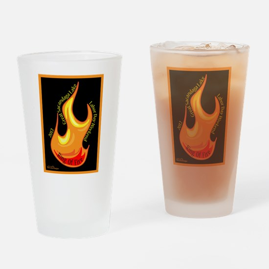 Ring Of Fire 2012 Drinking Glass