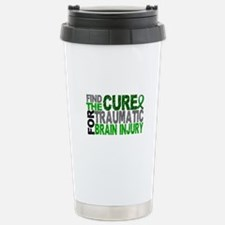 Find the Cure TBI Stainless Steel Travel Mug