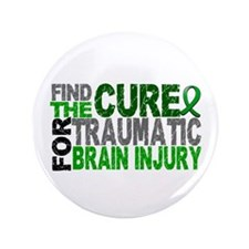 "Find the Cure TBI 3.5"" Button"
