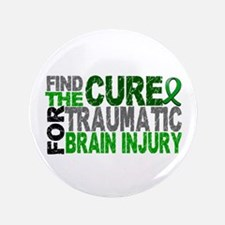 """Find the Cure TBI 3.5"""" Button"""