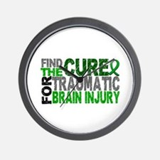 Find the Cure TBI Wall Clock