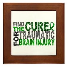 Find the Cure TBI Framed Tile