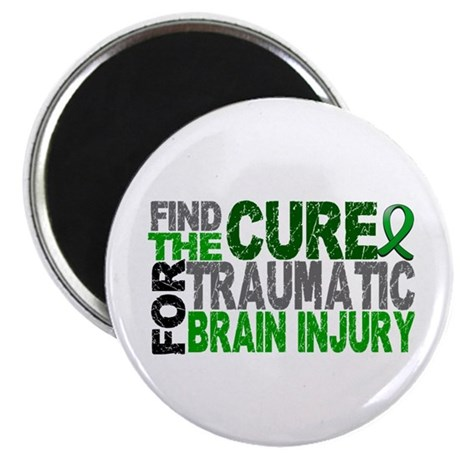 """Find the Cure TBI 2.25"""" Magnet (100 pack)"""
