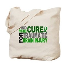 Find the Cure TBI Tote Bag