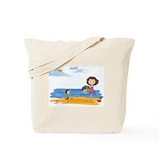 Fun At The Beach Tote Bag