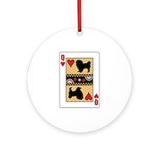 Queen Tibbie Ornament (Round)
