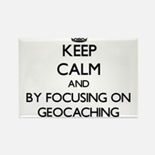 Keep calm by focusing on Geocaching Magnets