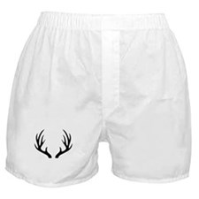 12 Point Deer Antlers Boxer Shorts