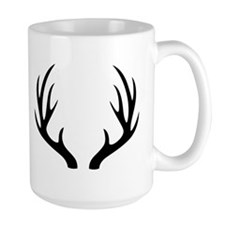 12 Point Deer Antlers Mugs