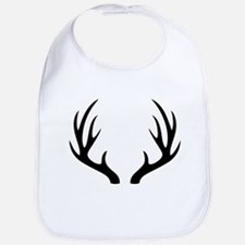 12 Point Deer Antlers Bib