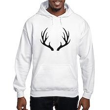12 Point Deer Antlers Jumper Hoody