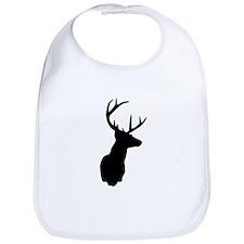 Buck Hunting Trophy Silhouette Bib