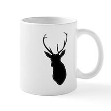 Buck Hunting Trophy Silhouette Mugs