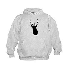 Buck Hunting Trophy Silhouette Hoody