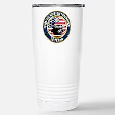 CVN-65 Enterprise Veteran Travel Mug