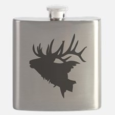 Elk Head Flask