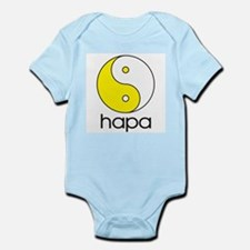 Hapa Yin-Yang (Large Logo) Infant Creeper