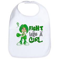 Licensed Fight Like A Girl 42.8 TBI Bib