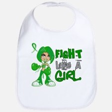 Licensed Fight Like A Girl 42.8 TBI Bib
