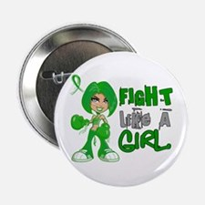 """Licensed Fight Like A Girl 42.8 TBI 2.25"""" Button"""