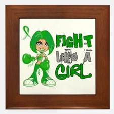 Licensed Fight Like A Girl 42.8 TBI Framed Tile