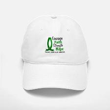 Courage Faith 1 TBI Baseball Baseball Cap